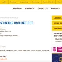 Riemenschneider Bach Institute.png